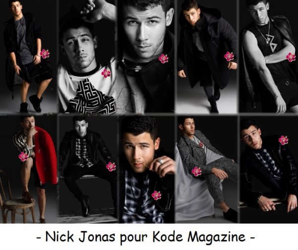 ▬ NEWS sur Nick Jonas ▬
