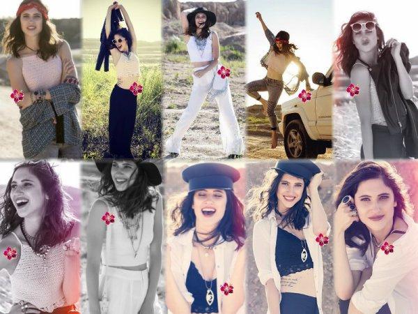 ▼ Photoshoot de Lodovica Comello pour Make-up & Hair !!