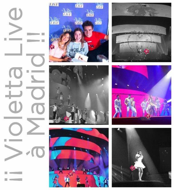 ↓ Violetta Live à Madrid + Nouveaux photoshoots de Nick Jonas & Demi Lovato + NEWS
