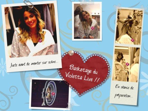 ¡¡ NEWS du Violetta Live à Madrid !!