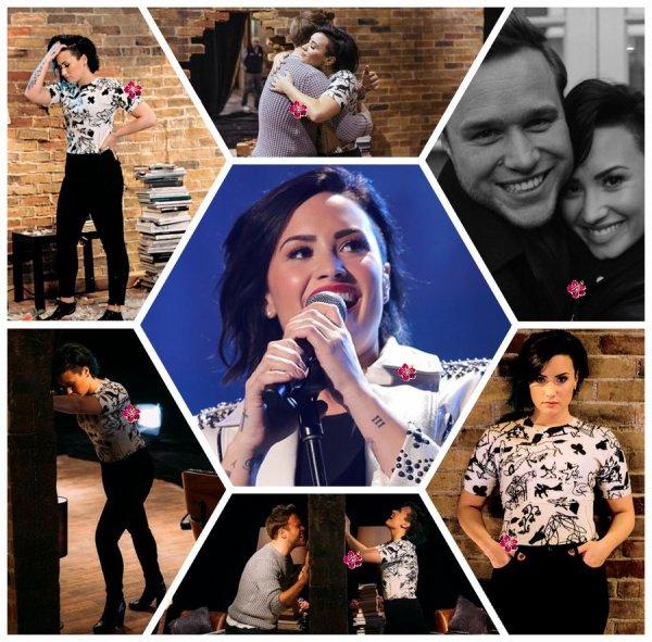 News du Demi World Tour & du clip de Up & coques de téléphones