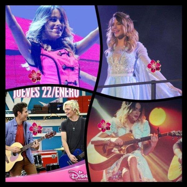 Les acteurs de Violetta chantent en français et ils se débrouillent super bien !! ▬ News du Violetta Live !!