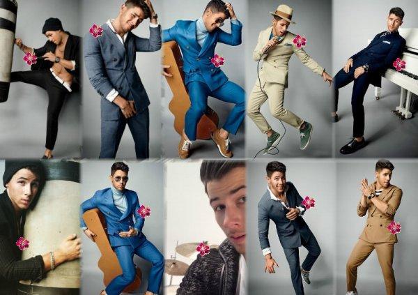 Nouveau photoshoot de Nick Jonas. He's just perfect !! ♥ + News de Demi Lovato