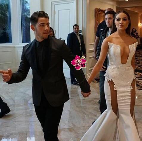 Nick Jonas & Olivia Culpo à Miss Univers 2015 !!