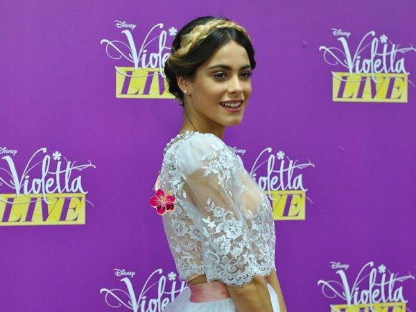 News du Violetta Live, interviews du casting, extrait de Violetta 3, ...