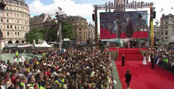 Photo exclusive de l'avant premiere de Harry Potter et les reliques de la Mort a Londres