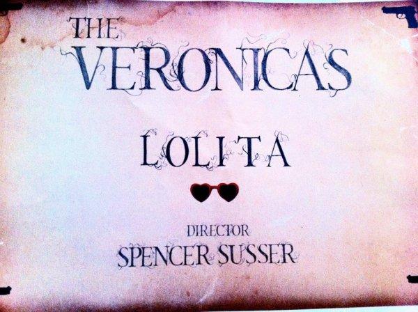 """@Lisa_Veronica @JessicaVeronica @TheVeronicas Lolita . Les jumelles nous annoncent enfin que Spencer Susser fera parti de la bande. Il realisera donc Lolita, le clip du nouveau single de The Veronicas. Spencer est connu pour avoir realiser le film """"Hesher"""" et aussi le clip """"Summertime Sadness"""" de Lana Del Rey. ."""