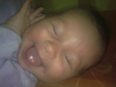ma fille a 3mois