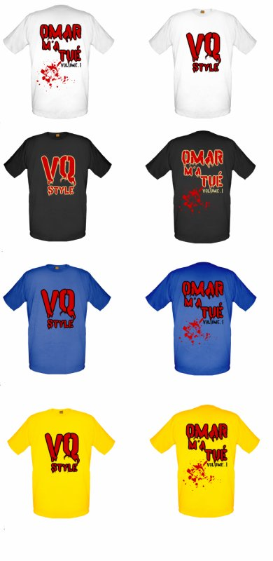 "Collection Street Wear ""OMAR M'A TUE volume.1"" by VQ style"