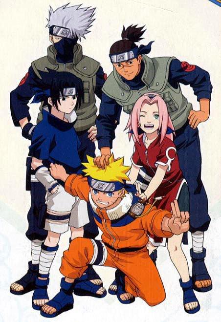la team 7+ iruka-sensei
