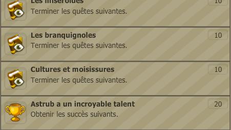 #2 - Quêtes, donjons, succès et le niveau 50.