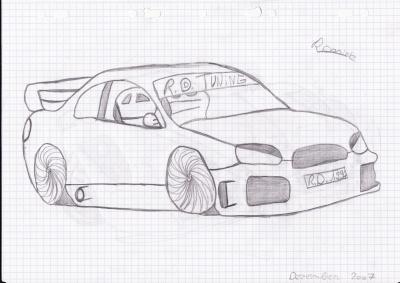 Dessins de voitures tuning dessins de voiture tuning - Dessin de voiture tuning ...