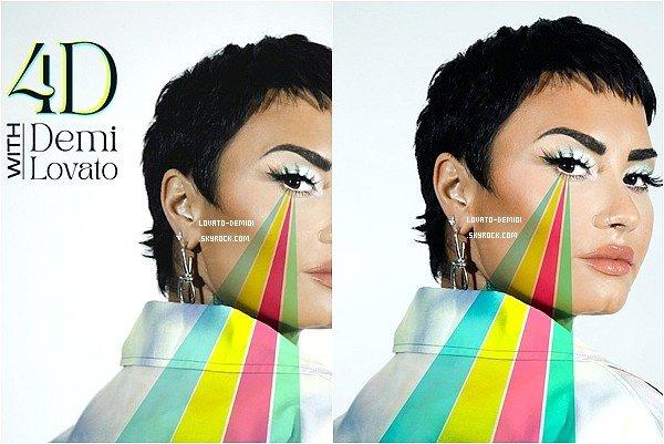 """13/05/21 ; Demi Lovato annonce la sortie de son nouveau podcast """"4D With Demi Lovato"""" ce 19 mai. Il y aura un nouvel épisode chaque mercredi. Il y aura certains invités tels que Jane Fonda, Jameela Jamil et d'autres."""