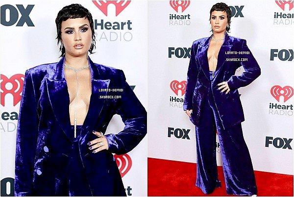 Demi Lovato sur le tapis rouge des iHeartRadio Awards ce 27 Mai. #iHeartAwards2021