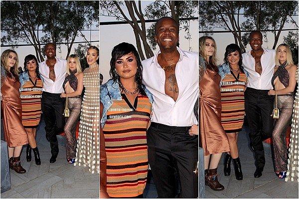 19/06/21 - Demi Lovato à la soirée PRIDE 2021 de Vas J Morgan à West Hollywood.