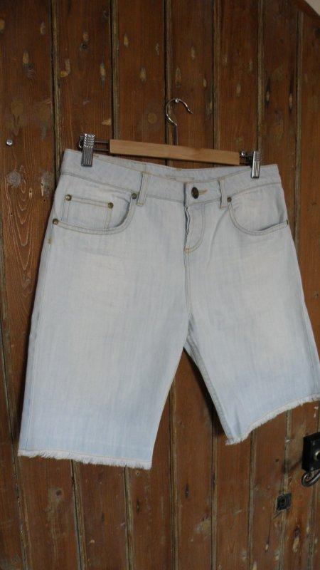 short jean maje taille XS effet usé