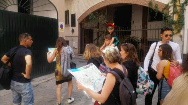 Visite de Seville sous le soleil