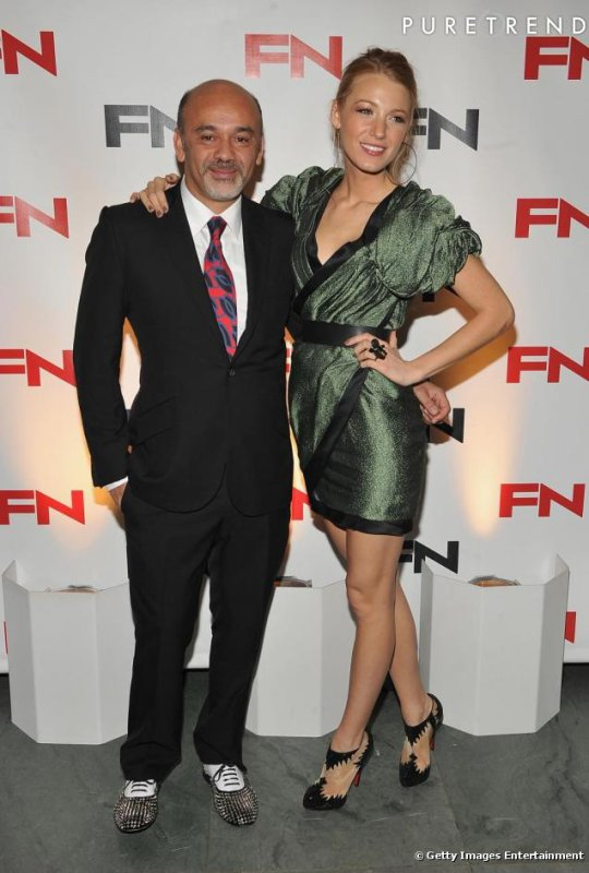 Blake Lively : Fan de Christian Louboutin