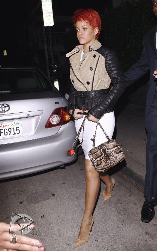 Un Zeste de Louboutin chez Rihanna !