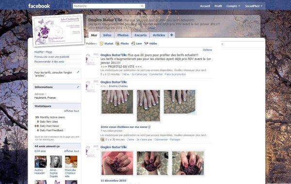 page Facebook: ongles natu'elle