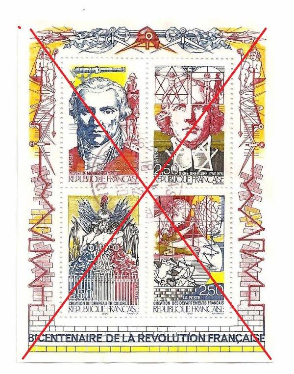 Plaquette Bicentenaire de la révolution française