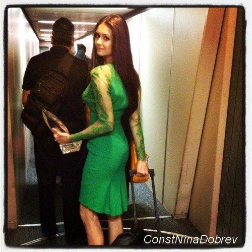 """10/01/12. Nina était présente à l'événement """"A Promise Of Beauty And Brilliance"""" organisé par Forevermark et InStyle."""