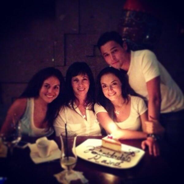 L'anniversaire de leur mères