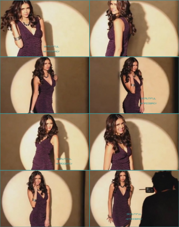 "Photo personnelle de Nina + Shoot ""WB Mondo BTS"""