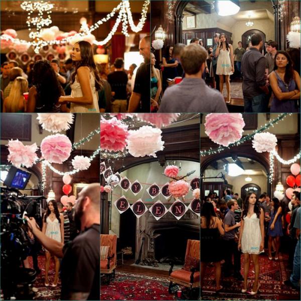 """* Photo """"Behind The Scene"""" de l'épisode 1 de la saison 3 de The Vampire Diaries. L'épisode se nomme """"Bloody"""".*"""