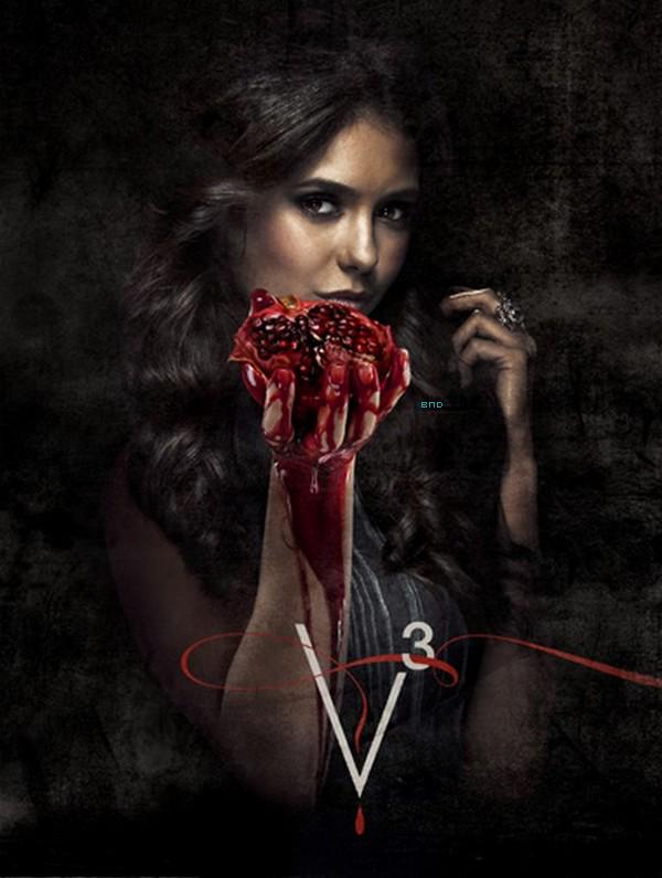 * Nouvelle photo promo de Nina pour la saison 3 |  Vidéo annoncant la reprise de TVD.*