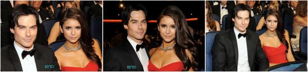 * Ce 18 septembre, Nina était présente aux Emmy Awards en compagne de Ian. Je vous laisse contempler ces magnifiques photos ♥*