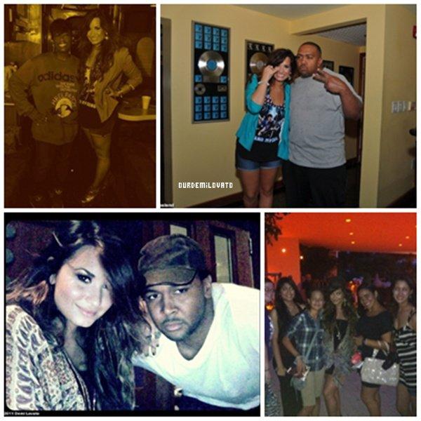 Demi Lovato au Studio