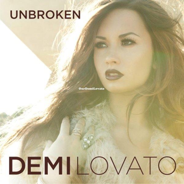 """Découvrez la pochette de l'album de Demi Lovato qui s'appelle """"Unbroken"""" et qui seras disponible le 20.09.2011"""
