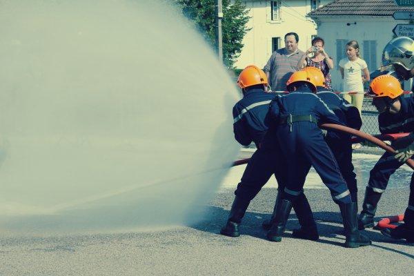 Photos d'une manoeuvre qui s'est déroulée le 2eme jour des portes ouvertes du CSP.