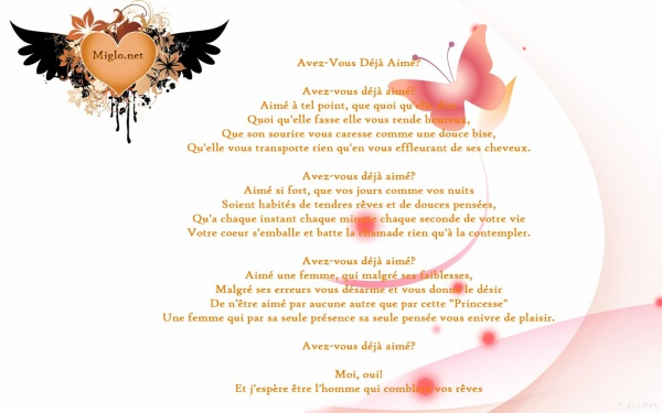Poeme D Amour Saint Valentin Fonds Décran Free Hd Wallpapers