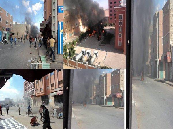 Déclaration commune relative aux derniers événements dramatiques de Laâyoune