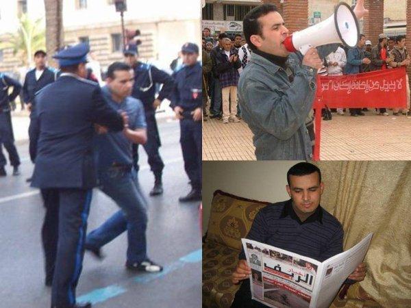 Liberez le camarade Mounaim Moussaoui detenu à Tanger