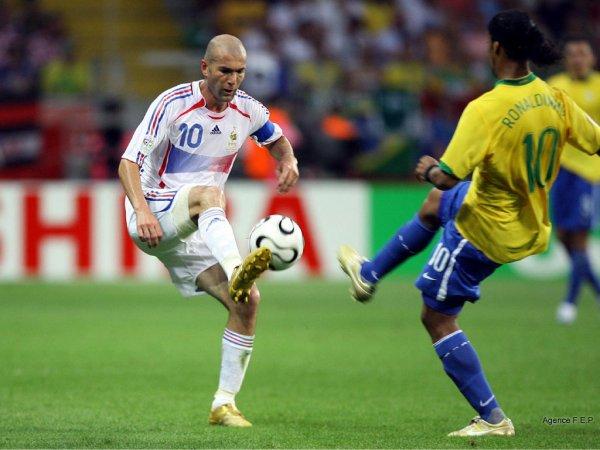 2006 1 4 finale coupe du monde 2006 france br sil celui qui se perd dans sa passion est - Coupe du monde 2006 france bresil ...
