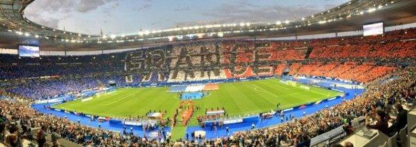 2017- Lors du match FRANCE-PAYS-BAS (Mon 48ème match équipe de france)