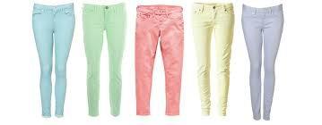 Pastel ; les pantalons  !