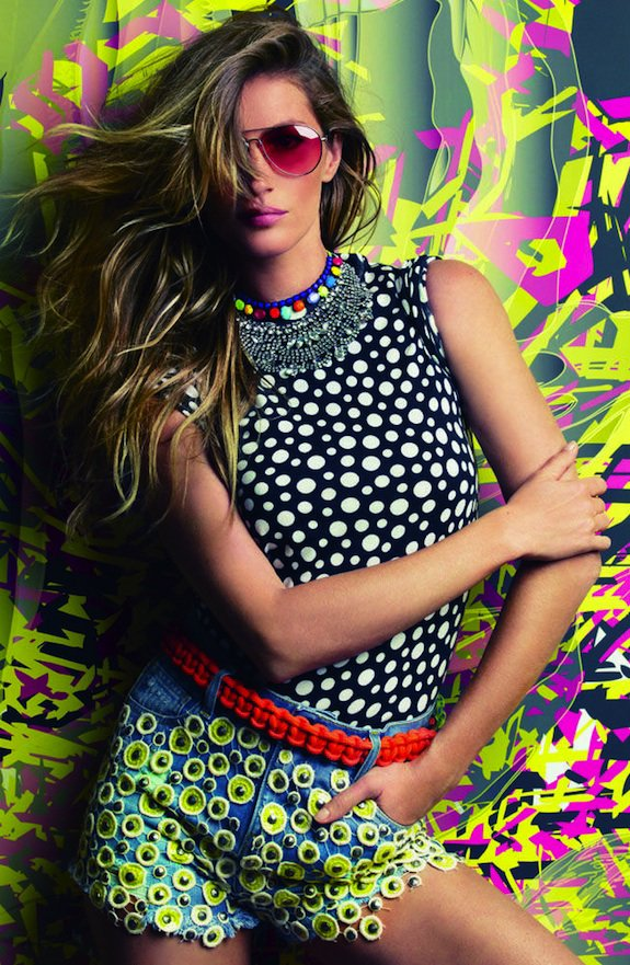 Gisele Bündchen pour le Vogue Brésil