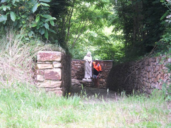 Jeudi 14 Juin 2012: 28eme étape FENEU-CHAMBELLAY  soit 25,13 km