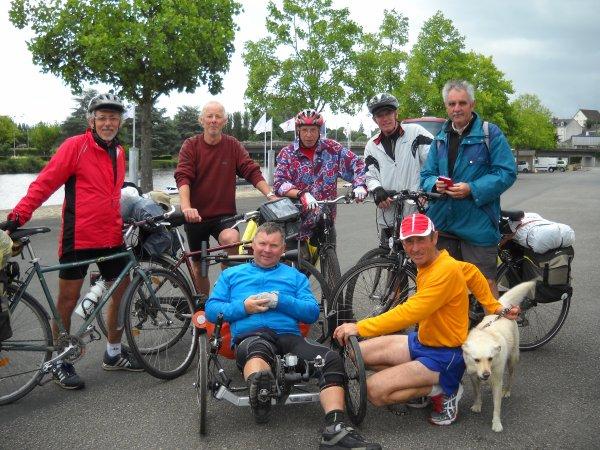 Vendredi 15 Juin 2012: 29eme étape CHAMBELLAY-CHATEAU GONTIER  soit 20,23 km