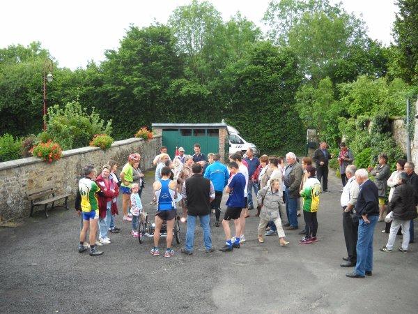 Lundi 25 Juin 2012: 38 ème étape LONGUENOE-SAINTE MARIE LA ROBERT soit 20,73 km  soit depuis le départ 996 km