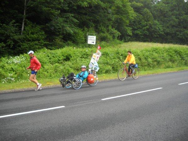 Mardi 26 Juin 2012 39 eme étape SAINTE MARIE LA ROBERT-BAGNOLES DE L'ORNE soit 28.96 km soit depuis le départ 1018 km