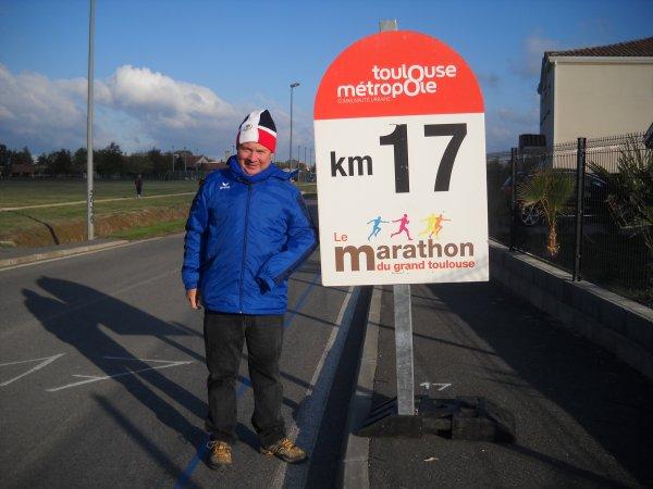Dimanche 28 octobre marathon de TOULOUSE