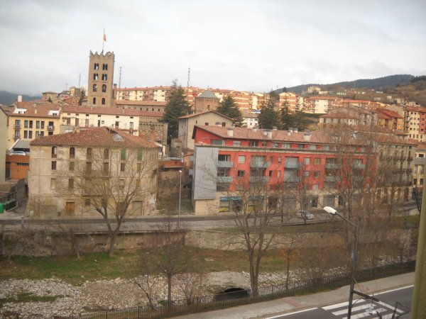 Samedi 14 Mars 2015 départ pour RIPOLL en Catalogne Espagnole fin 1ere étape du tour d'Espagne de Serge LAFON