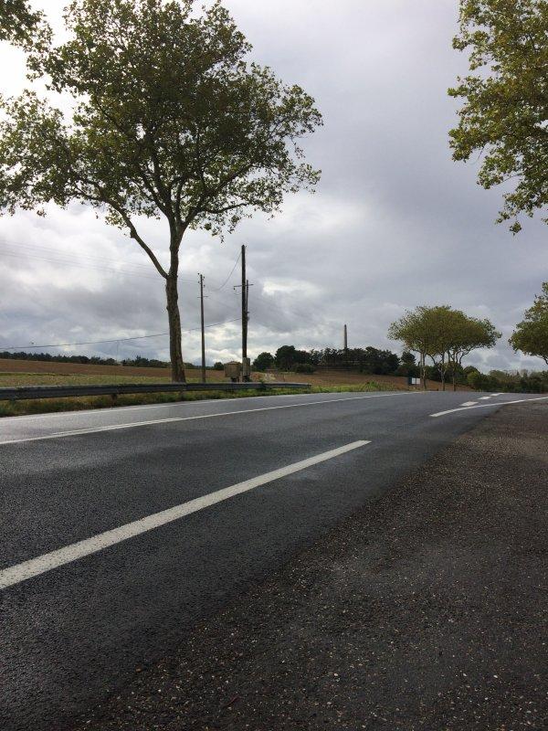 Lund 18 Septembre 2017 3éme étape Tour Haute Garonne Saint-Férréol=Avignonet 40.940KM