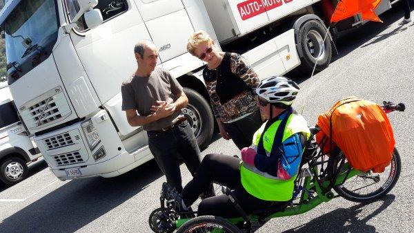 Dimanche 24 Septembre 2017 9éme étape Tour Haute Garonne Esténos=Bagnéres de Luchon 21.540KM