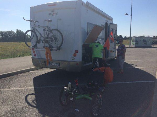 Vendredi 29 Septembre 2017 13éme étape Tour Haute Garonne Rieumes=Saint-Alban 47.430KM